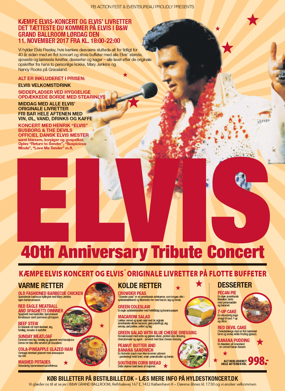 ELVIS Tribute Concert - Den 11. november 2017